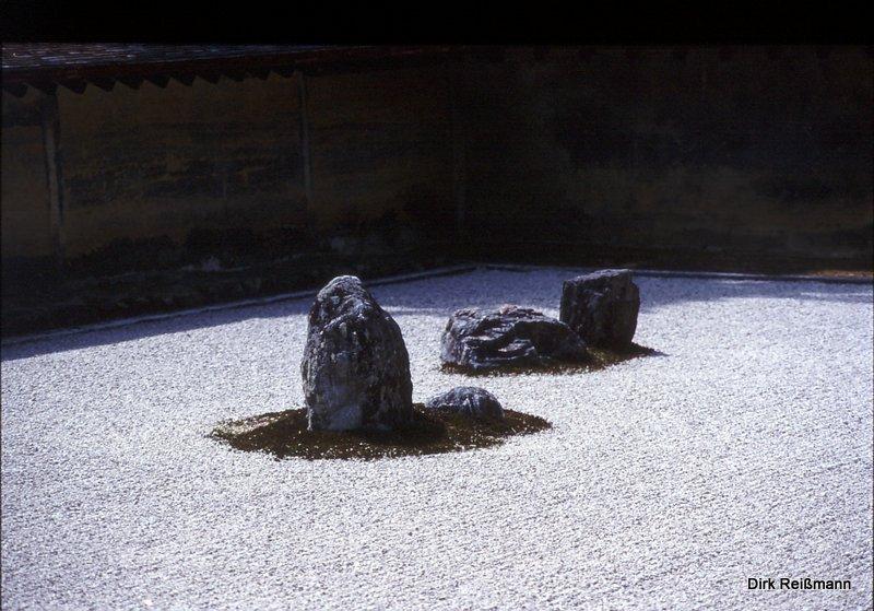 Zen Steingarten in Kyoto c D.Reißmann